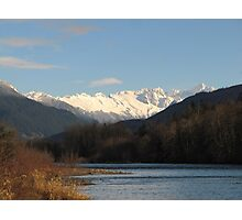 North Cascades and the Skagit River Photographic Print