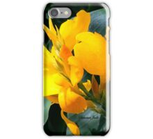A Bright Spot by the Pond ~ Cannas iPhone Case/Skin
