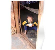 Dalat Coffee Boy Poster