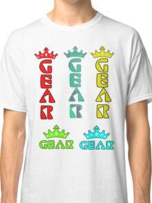 Gear Glass Horizontal Vertical Design Classic T-Shirt