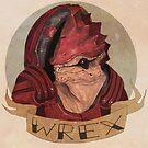 Wrex by Bskizzle