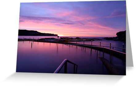 Sunrise - Malabar Baths by Mark  Lucey