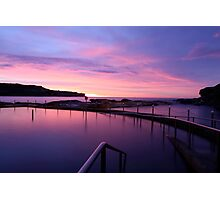 Sunrise - Malabar Baths Photographic Print