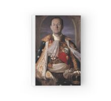 The Current King Of England- Mycroft Holmes Hardcover Journal