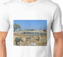 Animal Diversity at Okaukeujo Lagoon Unisex T-Shirt