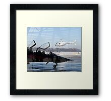The Aviators View... Framed Print