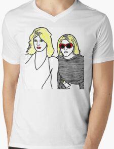 Kurt Cobain and Courtney Love Mens V-Neck T-Shirt