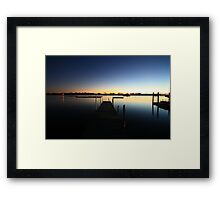 Whale Bone Jetty, Port Macquarie NSW Framed Print