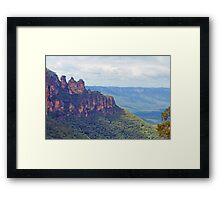 The Three Sisters - A Wondrous View Framed Print