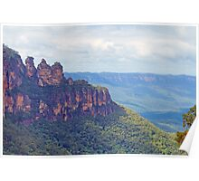 The Three Sisters - A Wondrous View Poster