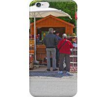 Roadside Fruit Stall, Slovenia iPhone Case/Skin
