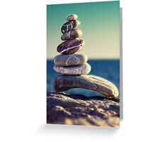 rock energy Greeting Card