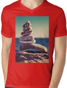 rock energy Mens V-Neck T-Shirt