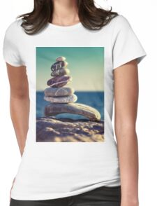 rock energy Womens Fitted T-Shirt