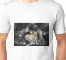 my hands, your hard Unisex T-Shirt