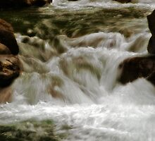 Waterfall Magic by Jeffrey  Sinnock