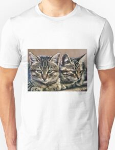 mother and child wild cats Unisex T-Shirt