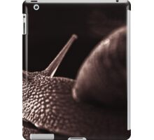 snail monochrome iPad Case/Skin