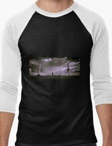 the future is here Men's Baseball ¾ T-Shirt