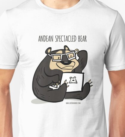 Andean Spectacled Bear Unisex T-Shirt