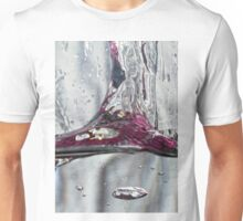 Water drops abstract 2 Unisex T-Shirt