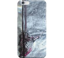 Water drops abstract 3 iPhone Case/Skin