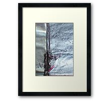 Water drops abstract 3 Framed Print