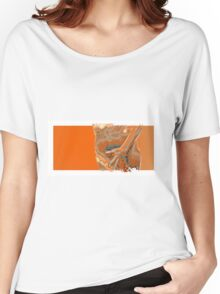 giving you the finger Women's Relaxed Fit T-Shirt