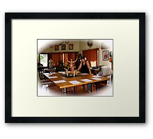 Information Overload Laxative Framed Print