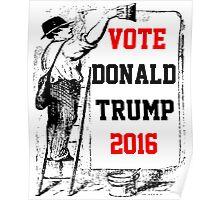 Vote Donald Trump 2016 Poster