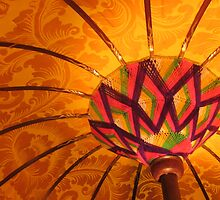 orange umbrella by ANNABEL   S. ALENTON