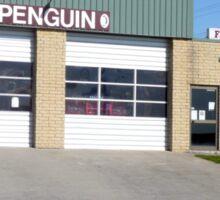 Fire station, Penguin, Tasmania Sticker