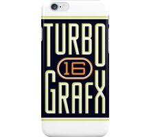TURBOGRAFX 16 iPhone Case/Skin
