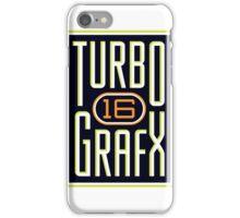 TURBOGRAFX 16 iPhone Case/Skin