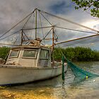 Card Sound Fishing Boat by njordphoto