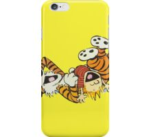 calvin and hobbes rotfl iPhone Case/Skin