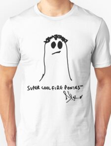 Super Cool Fire Ponies: Alex Turner's Self Portrait T-Shirt