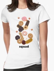 donut squad Womens Fitted T-Shirt