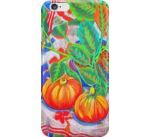 Still Life with Pumpkins iPhone Case/Skin
