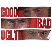 The Good The Bad The Ugly Poster