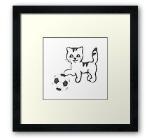 Portlandia Meow-Meow-Meow Byaaay Timberwolves Threads Framed Print