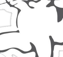 Portlandia Meow-Meow-Meow Byaaay Timberwolves Threads Sticker