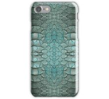 blue skin digital pattern iPhone Case/Skin
