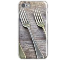 Shining Old forks... iPhone Case/Skin