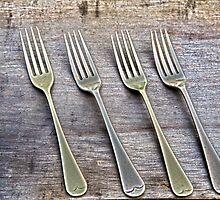 Shining Old forks... by mitpjenkeating