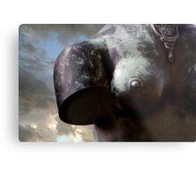 London Bust Metal Print