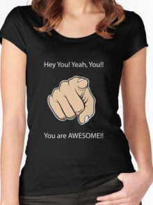 You are Awesome Women's Fitted Scoop T-Shirt