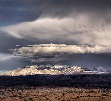 Manti La Sal Storm by rjcolby