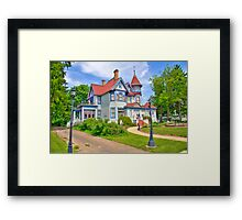 Kurth Mansion Framed Print