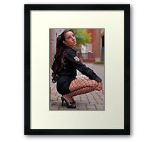Brazilian Barbie Framed Print